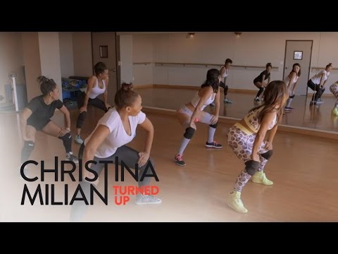 Christina Milian Turned Up  Christina Milian Twerks Out for a Bigger Booty  E!