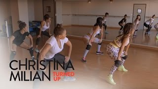 Christina Milian Turned Up | Christina Milian Twerks Out for a Bigger Booty | E!