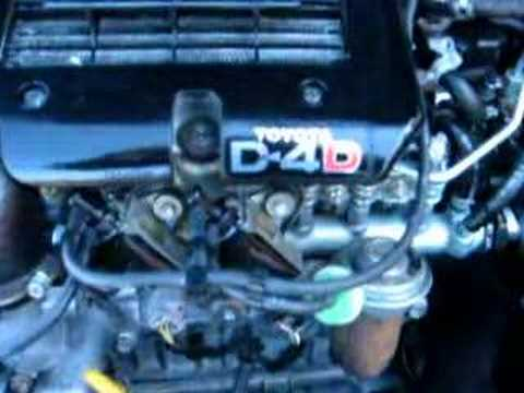 Toyota Yaris 1 4 D4d Motor Youtube