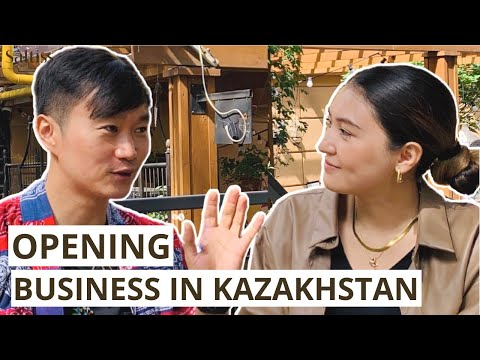 Life as an Expat in Kazakhstan: Businessman & Artist - Chiho