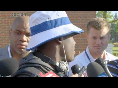Colts Wide Receiver Phillip Dorsett Interview