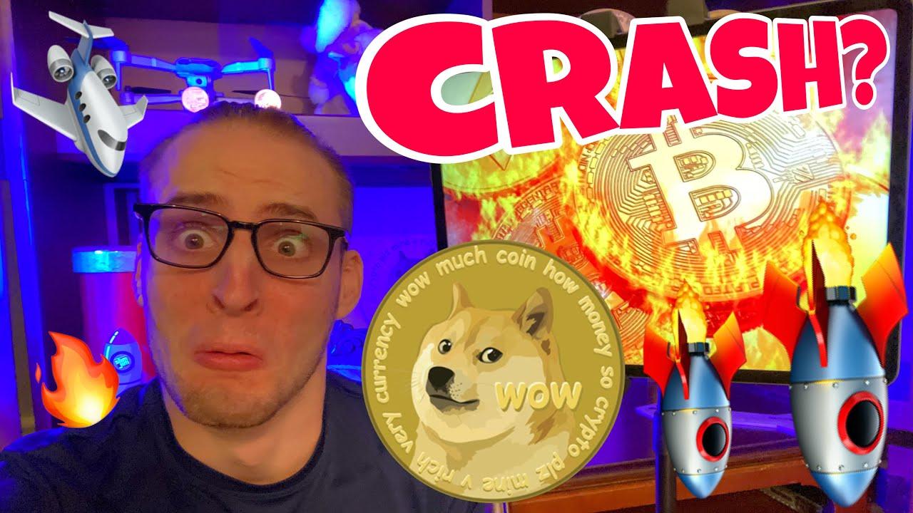 Will Dogecoin & Bitcoin CRASH BIG TOMORROW?