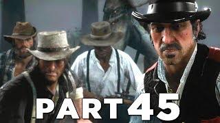 RED DEAD REDEMPTION 2 Walkthrough Gameplay Part 45 - CAPTURE (RDR2)