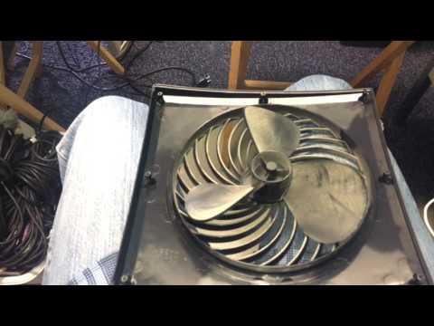 Vornado box fan cleaning