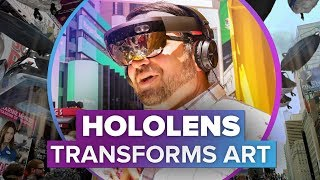 HoloLens meets art in Times Square