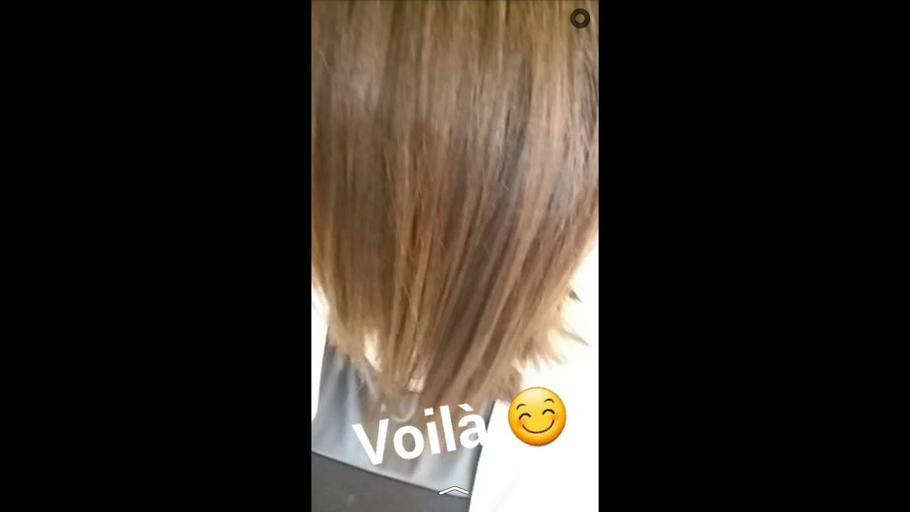 Couleur cheveux bleu libellule