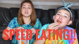 SPEED EATING CHALLENGE (FAIL!!!)