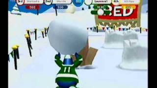 Club Penguin Game Day! Take on the Computer Game Play Nintendo Wii