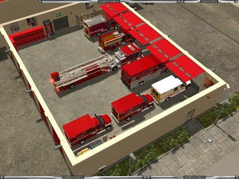 Emergency 4--CITY OF ANNFIELD Mod-- Busy Shift In ANNFIELD