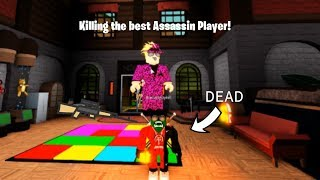 Killing The *BEST* Assassin Player!   ROBLOX