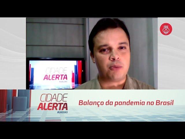 Balanço da pandemia no Brasil
