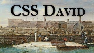 CSS David vs USS New Ironsides