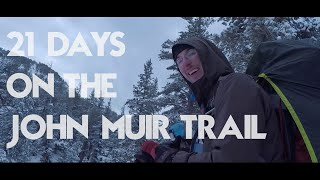 21 Days on the John Muir Trail (Sep/Oct)
