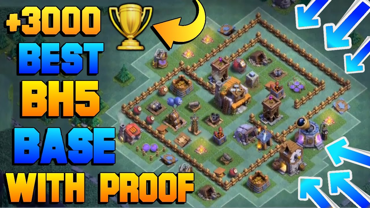 Stream Best Builder Hall 5 Base Bh5 Defense Replay