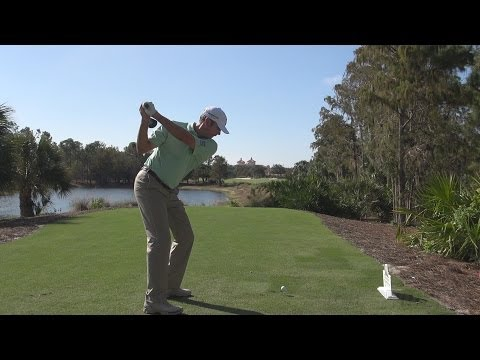 MATT KUCHAR 2013 DRIVER GOLF SWING - STRAIGHT DTL & SLOW MOTION  - 1080p HD