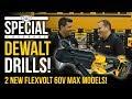 New Dewalt FlexVolt 60V MAX Drills: Mixer DCD130 + In-Line Stud/Joist DCD470