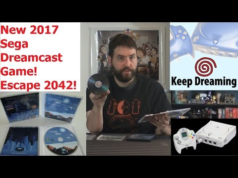 Keep Dreaming - Escape 2042 - 2017 Dreamcast Game - Adam Koralik
