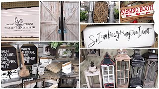 HOBBY LOBBY SHOP WITH ME 2019 I NEW SPRING DECOR I FARMHOUSE DECOR