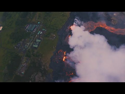Hawaii prepares for evacuations as lava approaches power plant