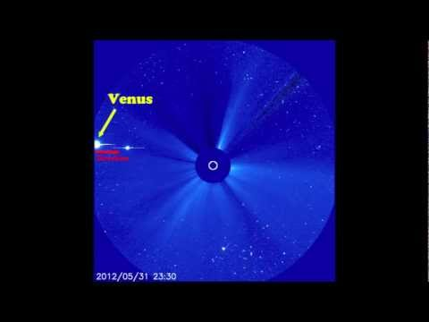 NASA / ESA SOHO - Welcome Venus, June 1, 2012