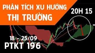 ???? [Trực tiếp] PTKT196 | Phân tich xu hướng Bitcoin, Gold, Forex, Chứng khoán 18 - 25/09/21