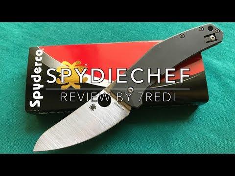 Spyderco SpydieChef Review - Rustproof & Impressive!