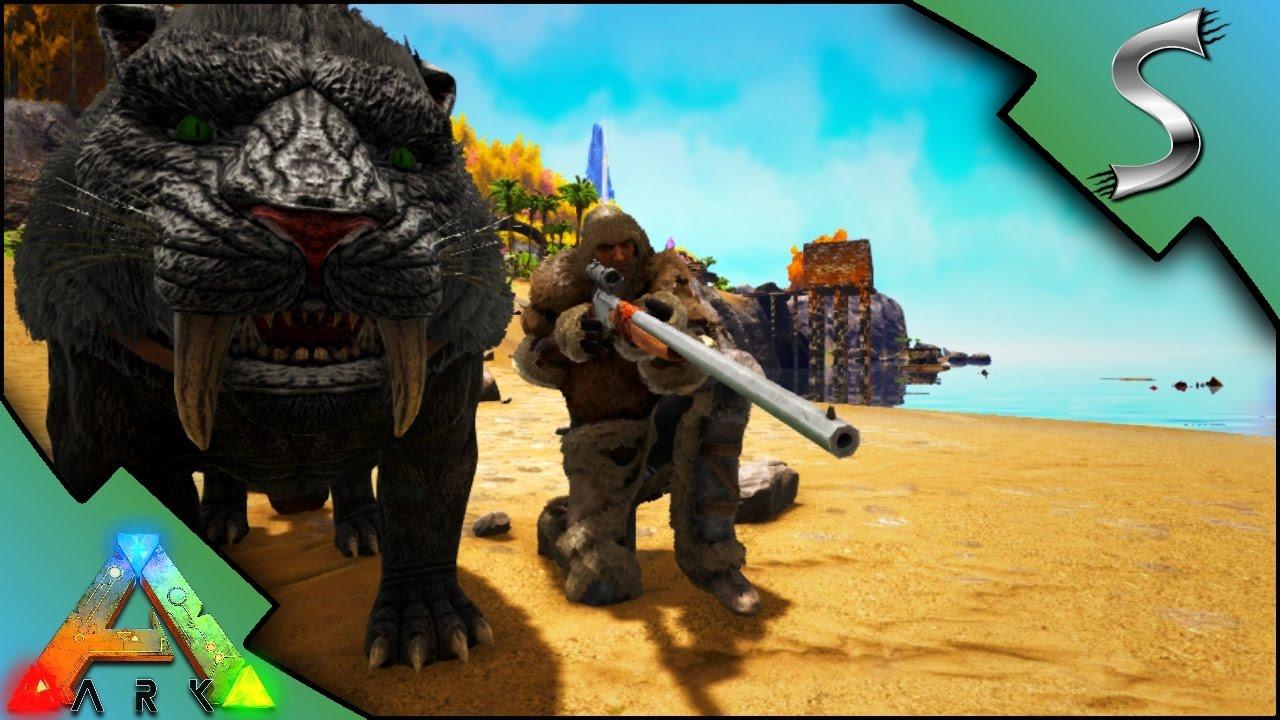 LONGNECK RIFLE U0026 THE DOCK!   Ark: Survival Evolved [S3E6]   YouTube