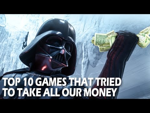 Top 10 Games That Tried to TAKE OUR MONEY | Awful video game microtransactions