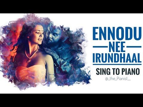 Ennodu Nee Irundhaal | Sing To Piano | Karaoke With Lyrics | Ai (I) | AR Rahman | Athul Bineesh