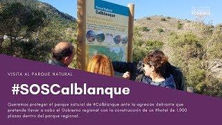 SOS Calblanque: no a la construcción del hotel