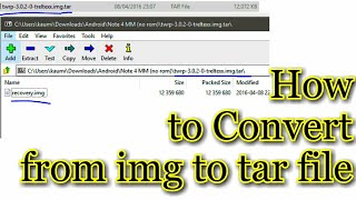 How to convert lz4 to img videos / InfiniTube