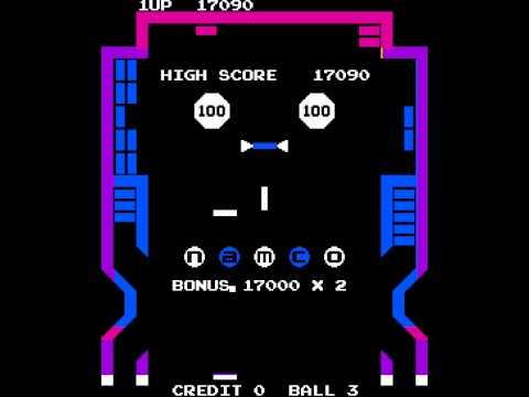 Arcade Game: Gee Bee (1978 Namco)