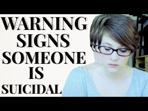 The Warning Signs that Someone is Suicidal