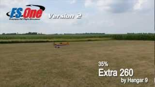 35% Extra 260 by Hangar 9 - Flying in FS One V2