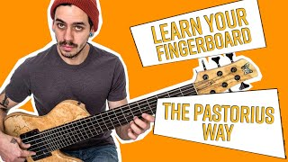 How to Master the Fingerboard (like the Pro's) with Felix Pastorius