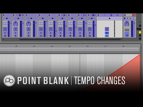 Ableton Live Tutorial: Exponential Tempo Changes in Session View