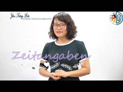 Học tiếng Đức cùng cô Thùy Dương - Bài 20: Tổng kết giới từ chỉ thời gian