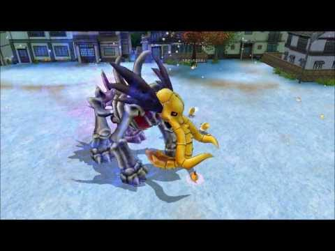 Digimon Masters Online - Shamanmon - all evolutions and attacks