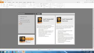 การใช้โปรแกรมช่วยสำนักงาน โปรแกรม foxit Reader