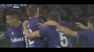фиорентина 54 Интер   Обзор матча  Италия  201617  33 тур