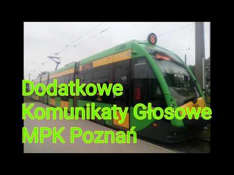 Dodatkowe Komunikaty Głosowe - MPK Poznań