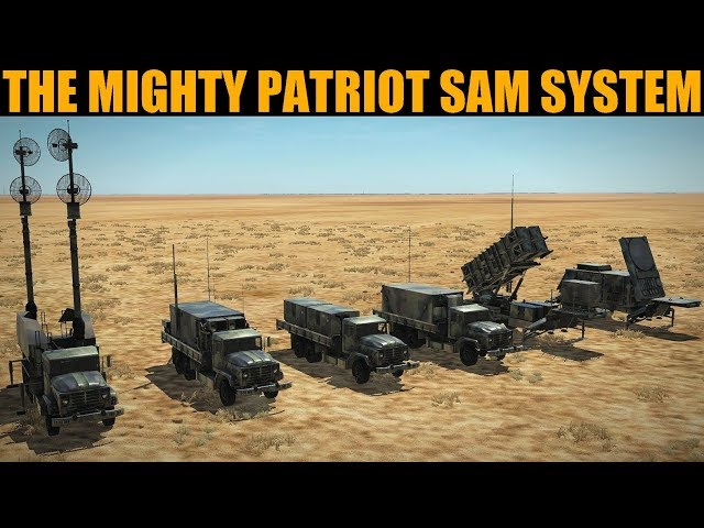 Explained: Patriot SAM System (Real Life & DCS WORLD) (With Expert Speaker)