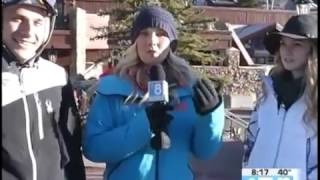 Christy Sports Maddie Evans and Marko  03.23.17 Good Morning Vail