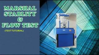 marshall stability test 2018 | marshall stability test for bituminous mix design full tutorial 2018