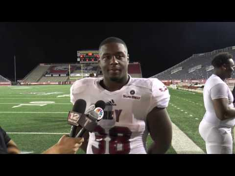 Player Post Game Interviews- South Alabama