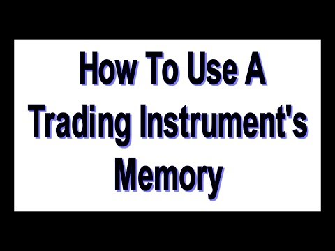 How To Use A Trading Instrument's Memory - #719