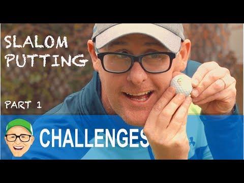 152 YARD SLALOM PUTTING CHALLENGE PART 1