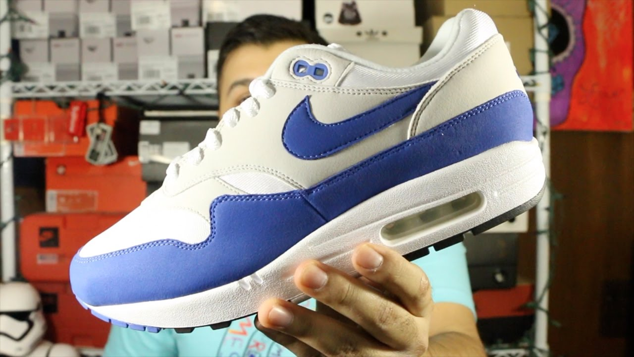 nike air max 1 anniversary blue restock meaning