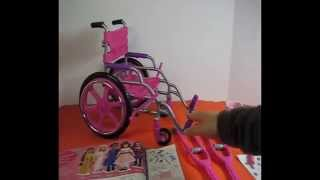Doll Wheelchair Playset (my Life As Doll Brand From Walmart)