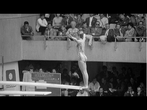 Sue Gossick Comes Back To Win Diving Gold - Mexico 1968 Olympics
